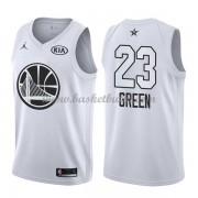 Golden State Warriors Draymond Green 23# Vit 2018 All Star Game NBA Basketlinne..